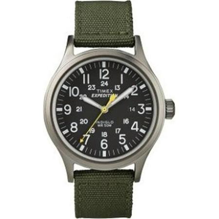 6a1397cc0b1b Timex - Timex T49961 Mens Expedition Scout Watch  44  Army Green -  Walmart.com
