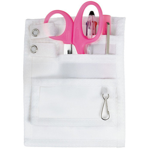 Prestige Medical Nurse/Nursing 5 Pocket Designer Organizer Kit 742, Many Colors - Pink - HPK