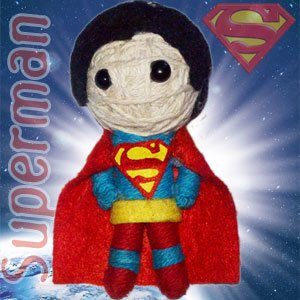 Cell Phone Charm - DC Comic - Superman New Gifts Toys String Doll (Dc Comics Gifts)