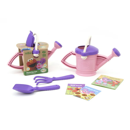 Green Toys Sesame Street Abby Cadabby Watering Can Outdoor Activity Set - Abby Cadabby Merchandise