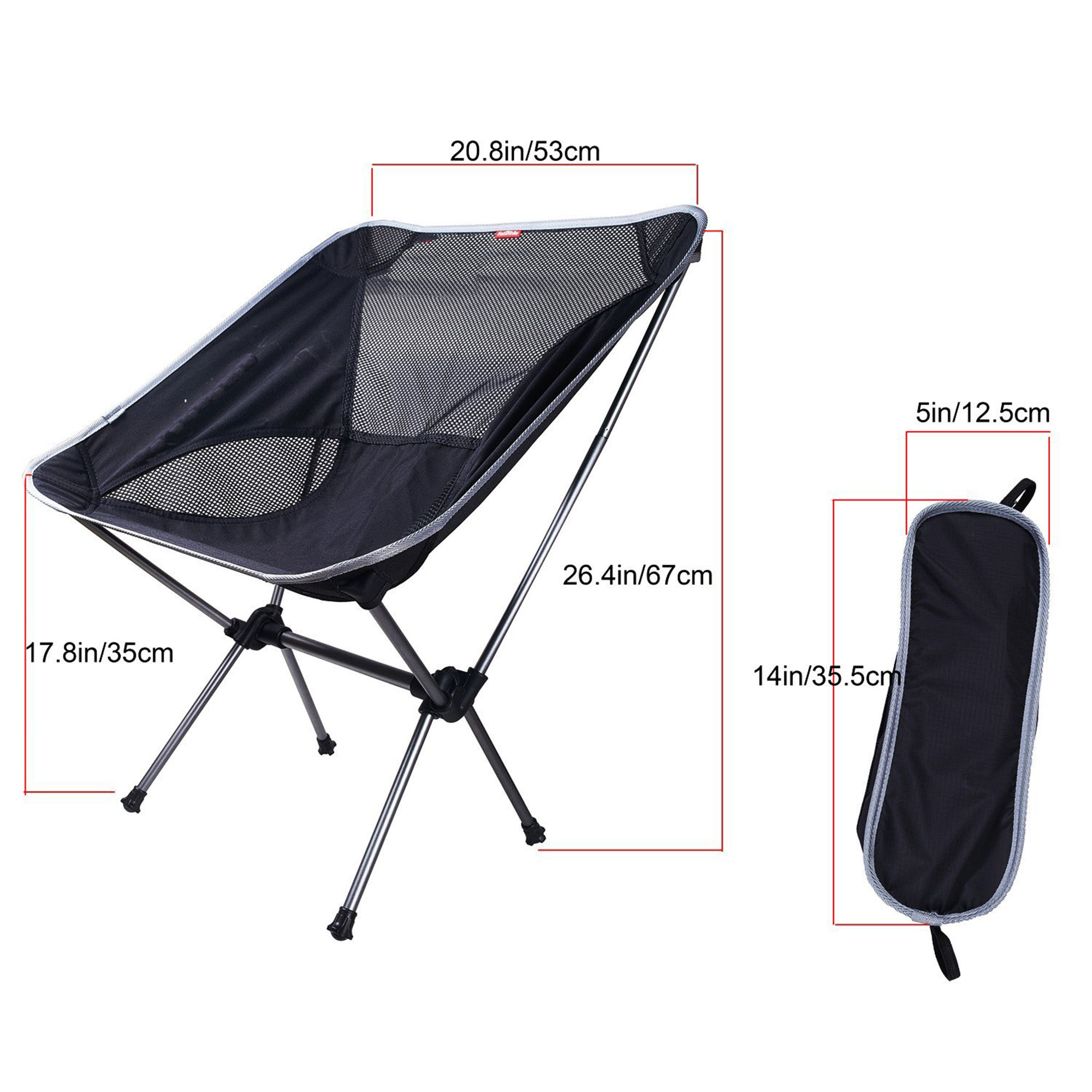 SehrGo Portable Ultralight Collapsible Moon Leisure Campi...