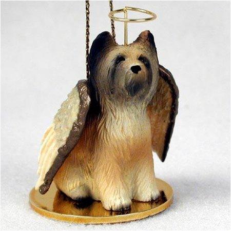 Briard Tiny Ones Dog Angels (2 in), Each figurine is carefully hand painted for that extra bit of realism. By Conversation Concepts Ship from US