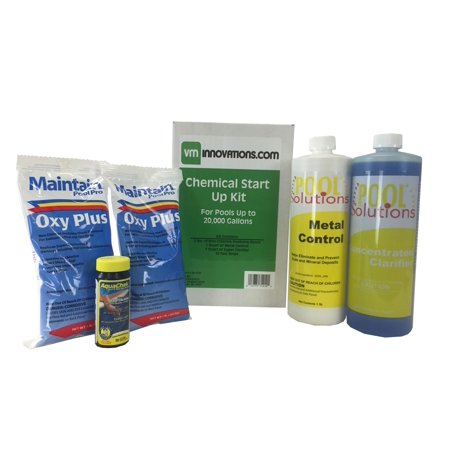 Swimming Pool Spring Start Up Chemical Opening Kit Pools Up To 20 000 Gallons