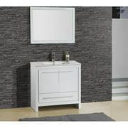 Adornus Alexa 30'' Single Vanity with Mirror