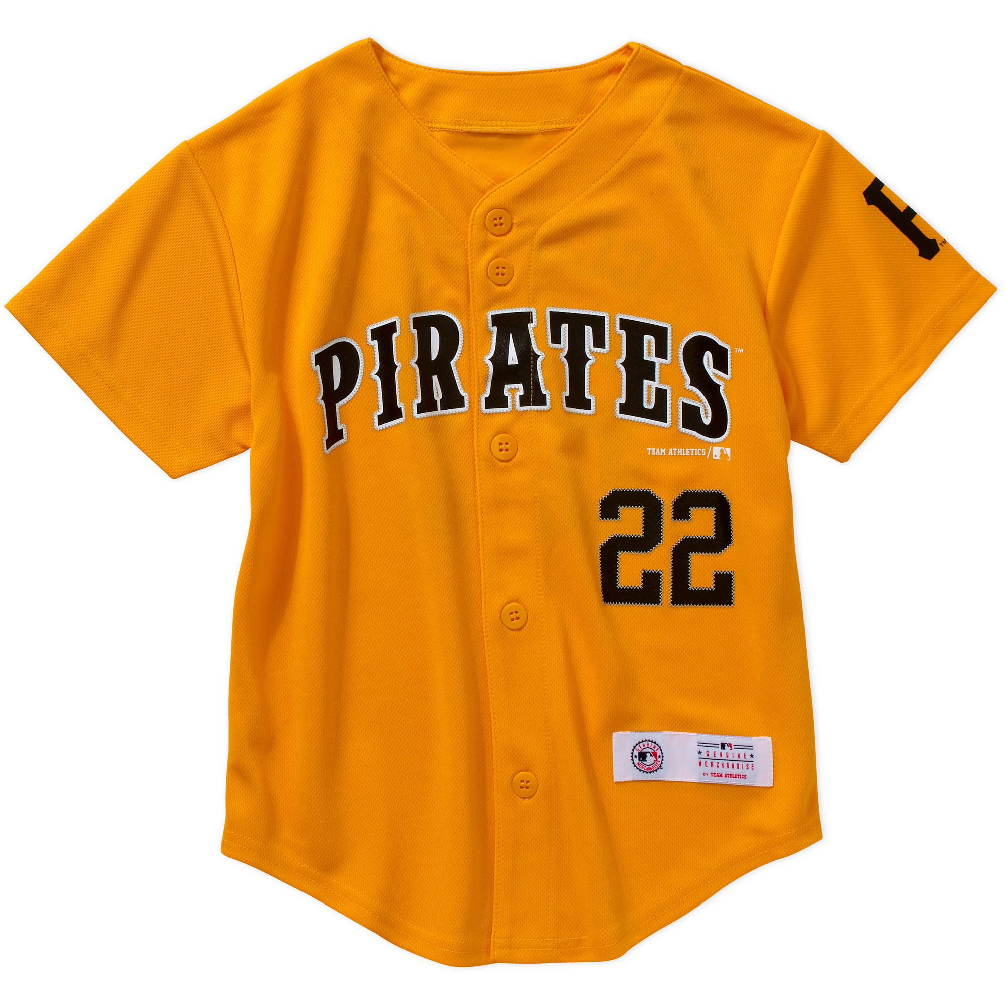MLB Boys' Pittsburgh Pirates A McCutchen #22 Jersey