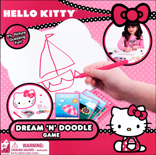 Hello Kitty Dream & Doodle Game Box, Hello Kitty by Cardinal by