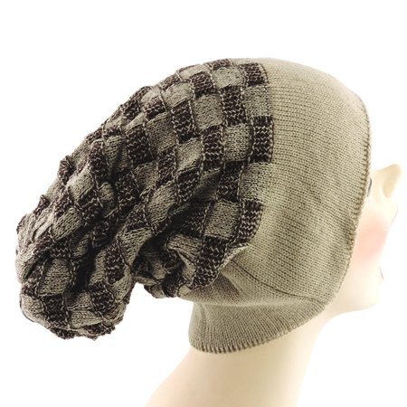Silver Fever Women Knitted Winter Hat Cup Ski Outdoor Sport Fashion Binnie Skullies (Skully Halloween)