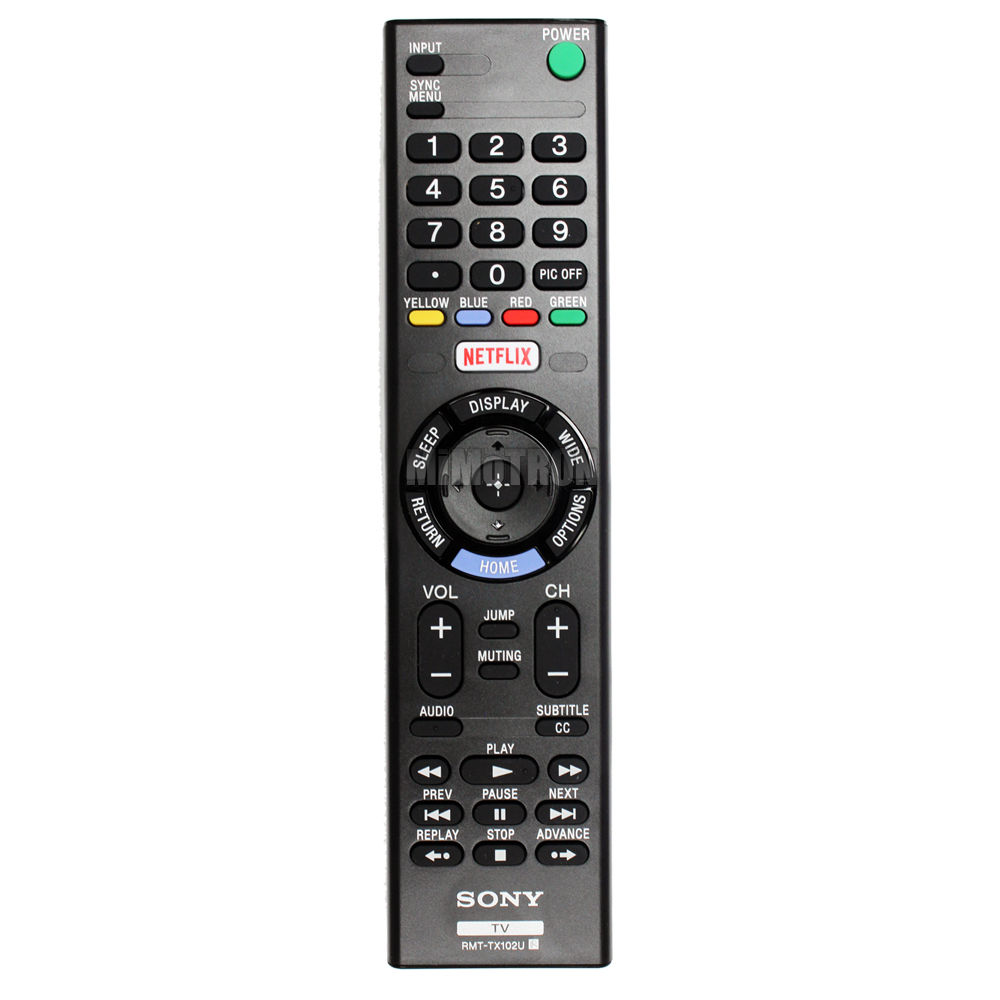 GENUINE SONY RMT-TX102U SMART TV REMOTE CONTROL(Refurbished)