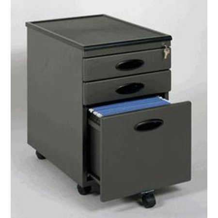 Power Center Mobile 3 Drawer Vertical File Cabinet