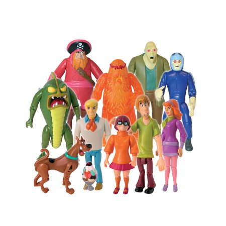 Scooby Doo Monster Set, 10 Figure Pack](Scooby Doo Cupcake Liners)