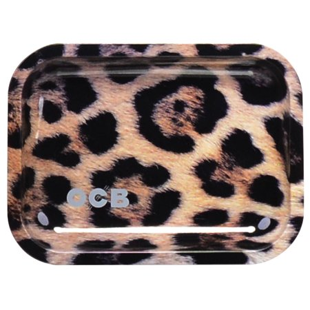 Ocb Rolling Papers - OCB Metal Rolling Tray - Jaguar / Small (7.5