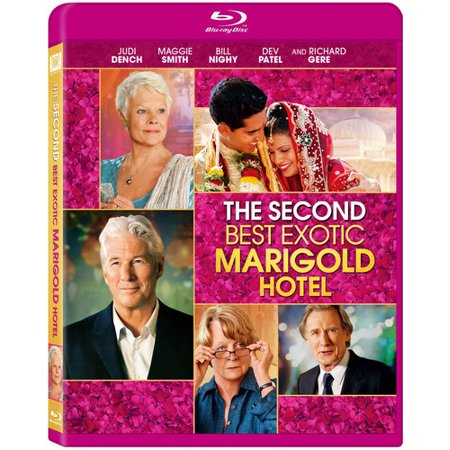 The Second Best Exotic Marigold Hotel  Blu Ray