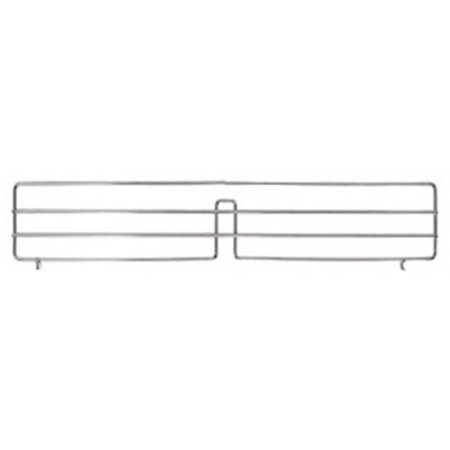 Chrome Wire Shelving Slanted Shelf Divider - 24 in.