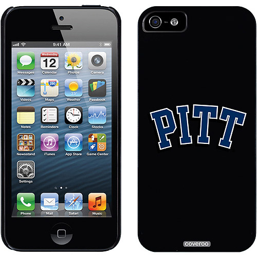 University of Pittsburgh Pitt Design on Apple iPhone 5/5SE/5s Thinshield Snap-On Case by Coveroo