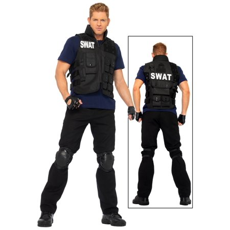 Mens SWAT Team Costume for $<!---->