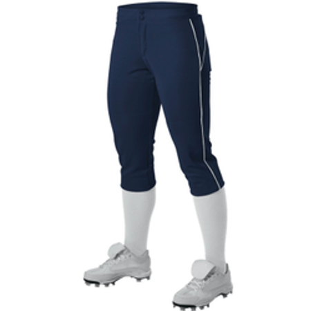 Alleson Women's Two-Color Low Rise Fastpitch Pant (Alleson Two Color)