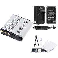 NP-40 High-Capacity Replacement Battery with Rapid Travel Charger for Select Casio Digital Cameras. UltraPro Bundle Includes: Camera Cleaning Kit, Screen Protector, Mini Travel Tripod