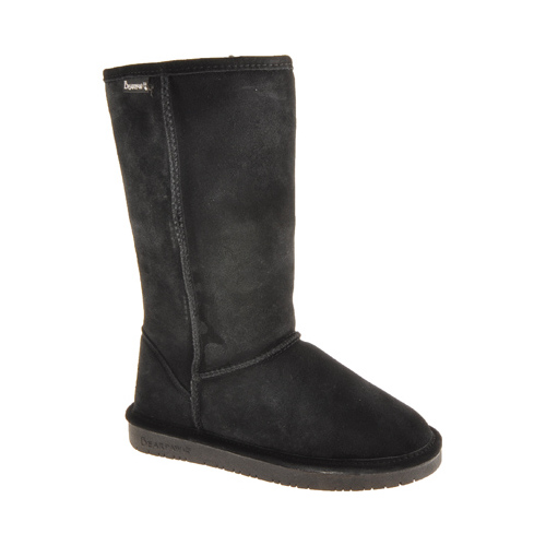 Bearpaw Womens EMMA TALL Closed Toe Mid-Calf Fashion Boots, Black, Size 8