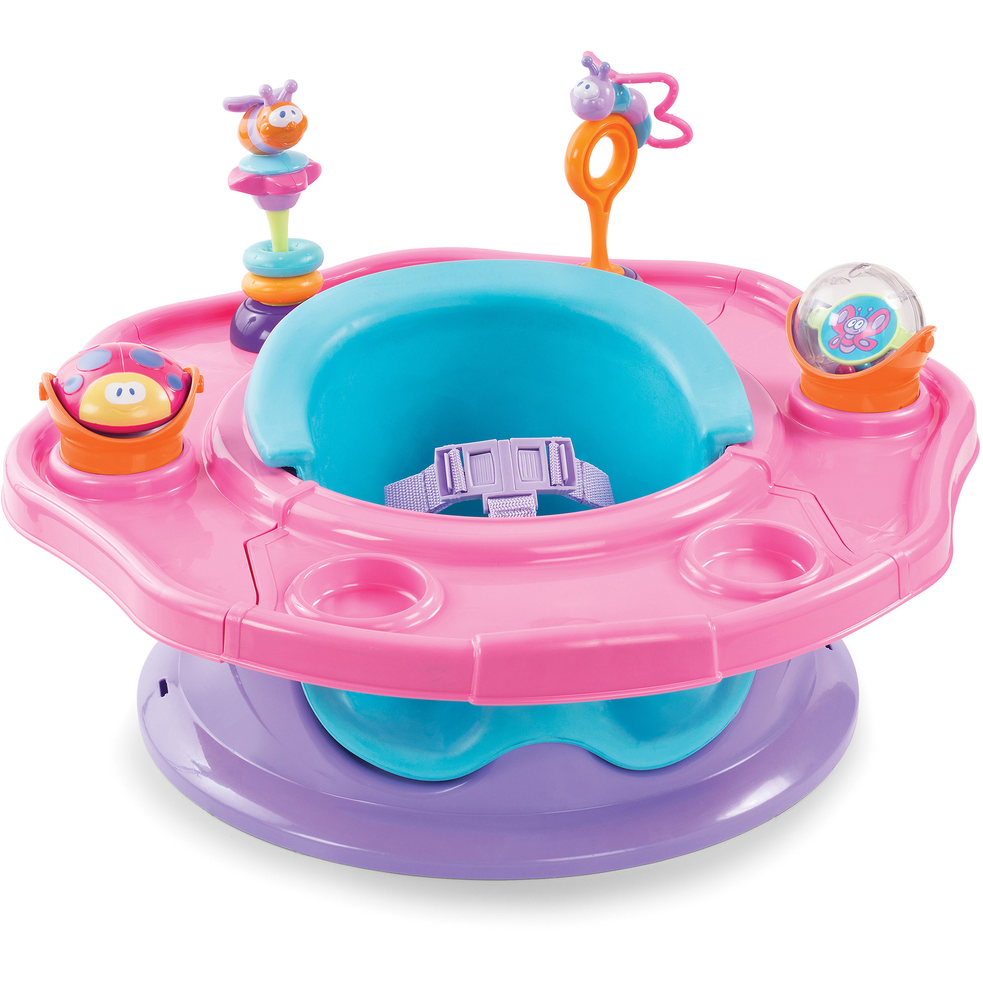 Sumer Infant 3-Stage SuperSeat, Pink