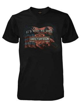 ba4f63c7274 Product Image Harley-Davidson Men s Why We Ride Short Sleeve Crew-Neck  T-Shirt