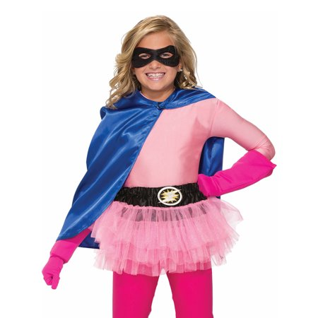 Hero Tutu Pink Costume for Kids - Size ONE SIZE FITS MOST - Diy Womens Halloween Costumes