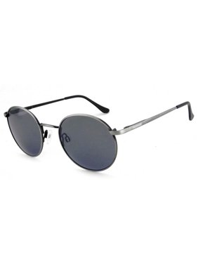 62f6fdce40 Product Image Peppers Lennon Sunglasses Antique Silver With Smoke Polarized  Lenses