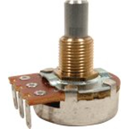 - Guitar & Amp Potentiometer, 25K Linear, Solid Shaft By Bourns