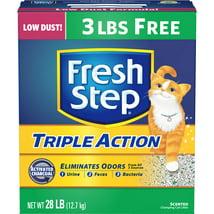 Cat Litter: Fresh Step Triple Action