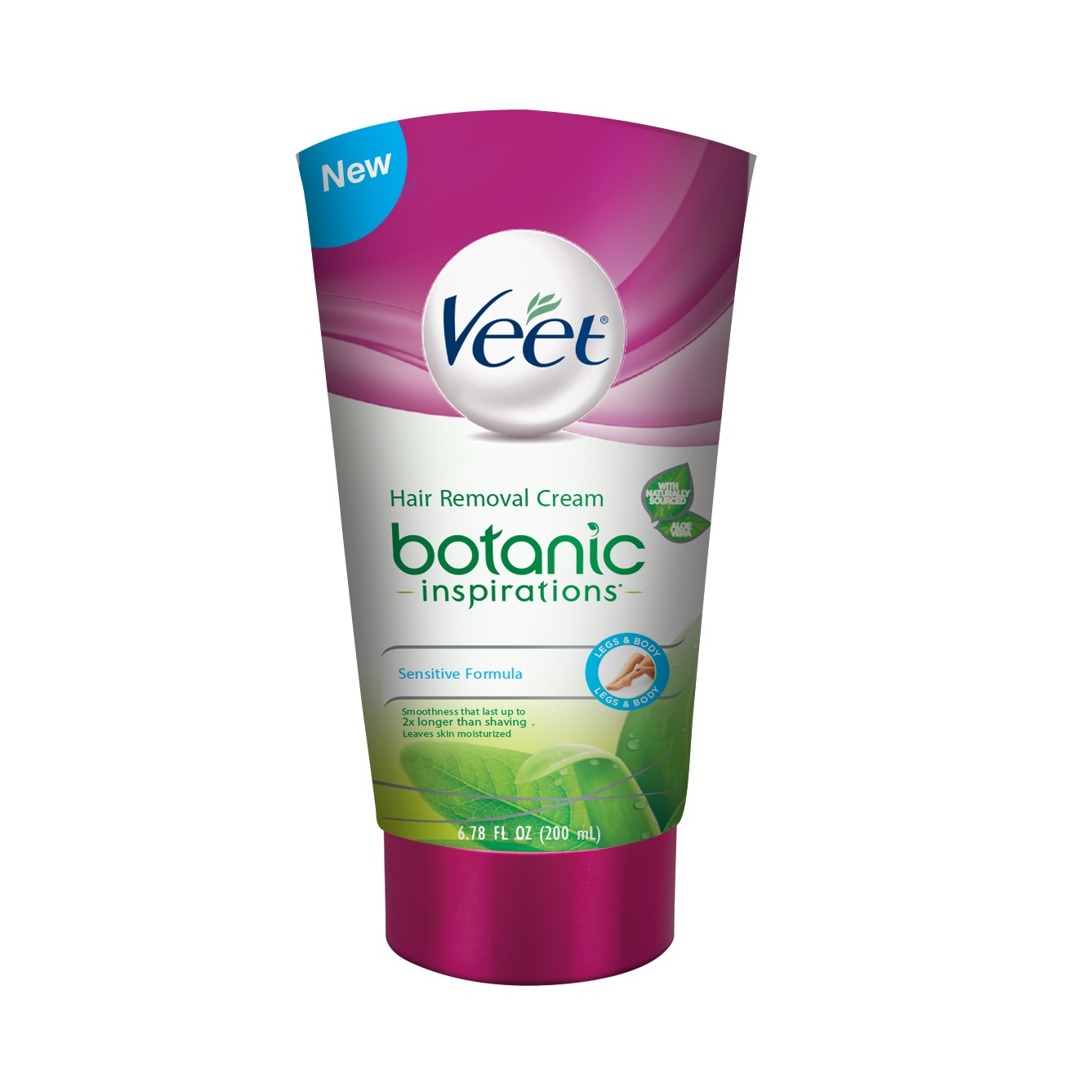 Veet Botanic Inspirations Gel Cream 6 78 Oz For Legs Body