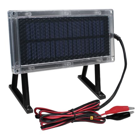 6 VOLT SOLAR PANEL DEER FEEDER 6V BATTERY CHARGER thumbnail