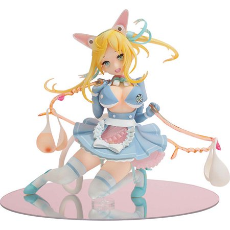 Masterpiece of okama: Skipping Rope Maid Roppu 1/8 PVC Figure