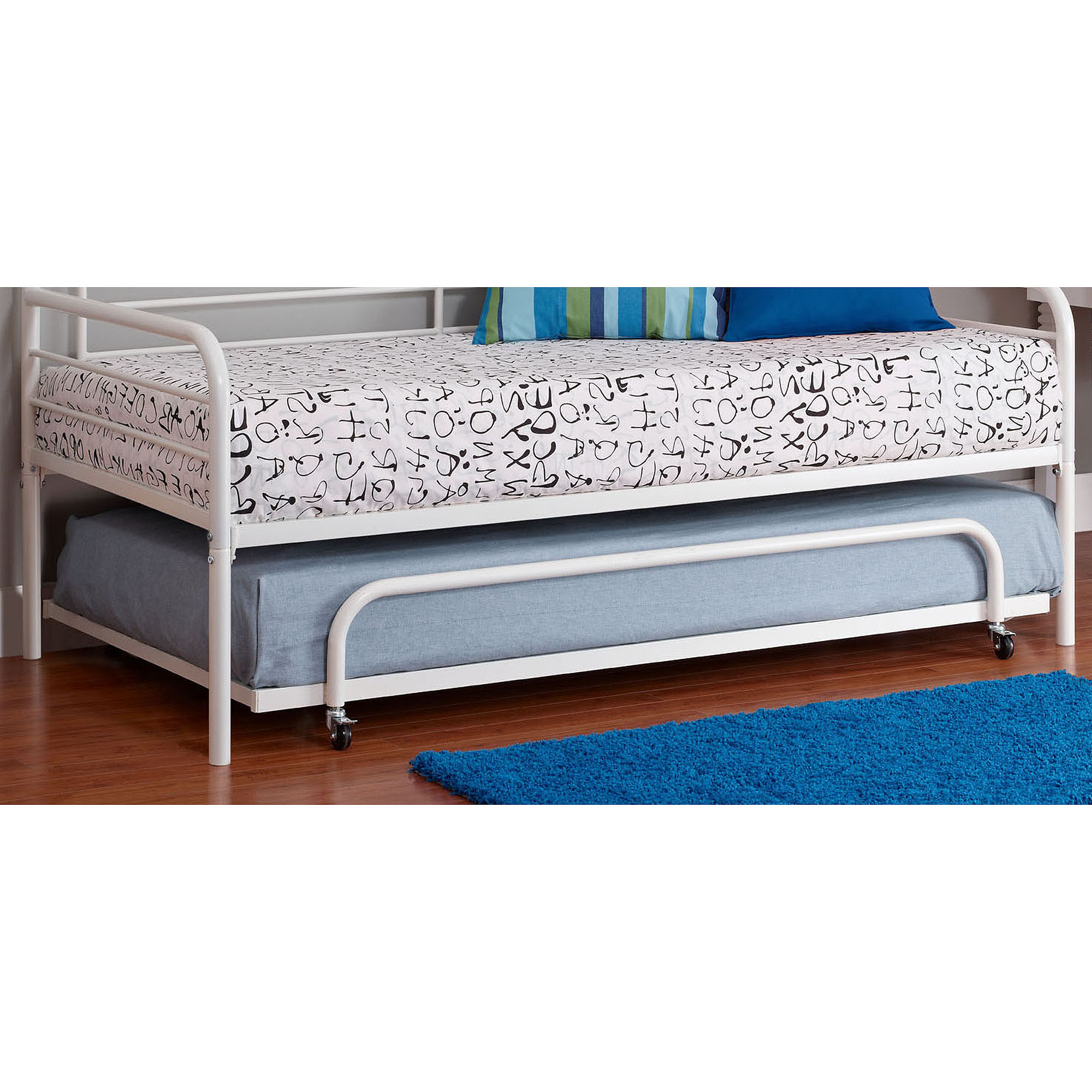 dorel home twin trundle for metal daybed multiple colors walmartcom