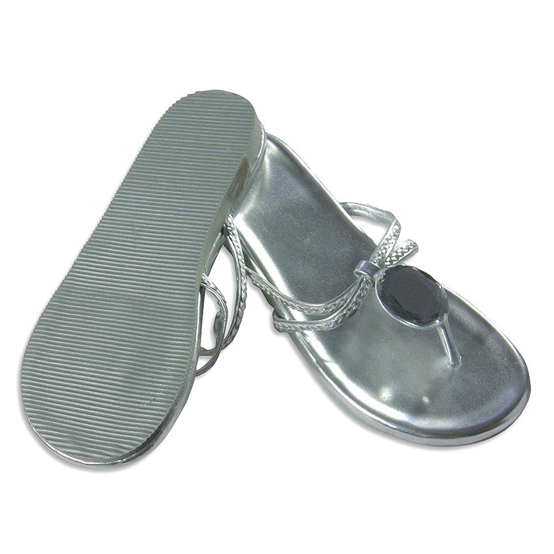 Private Label - Ladies Sandal Silver / S 5-6