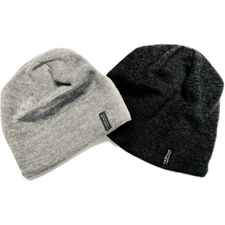 Cascade Mountain Tech - Cascade Mountain Tech Merino Wool Beanie Hats (2  Pack) - Walmart.com e7542ad154f