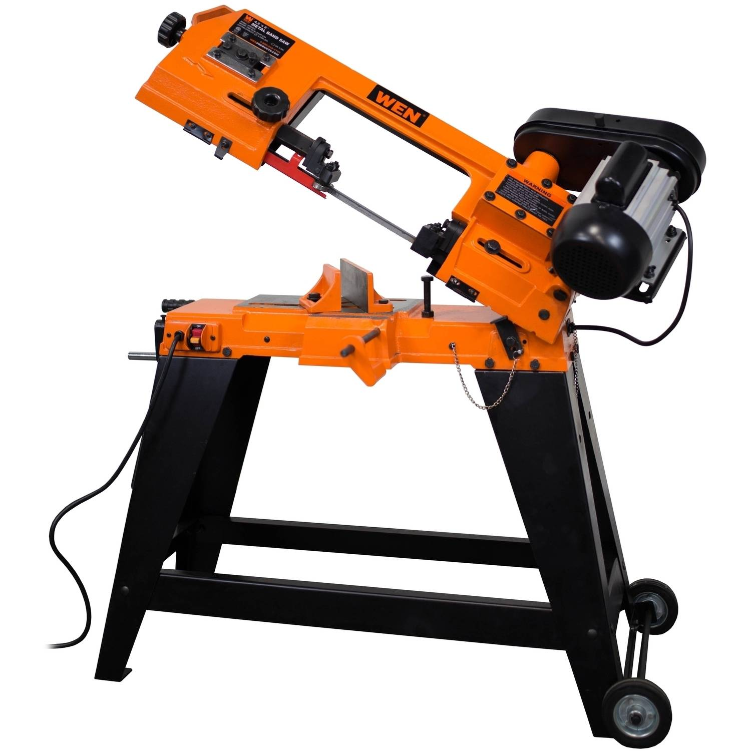 WEN 4-Inch X 6-Inch Metal-Cutting Band Saw With Stand