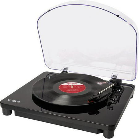 ION Audio Classic LP | 3-Speed USB Conversion Turntable for Mac & PC with Hinged