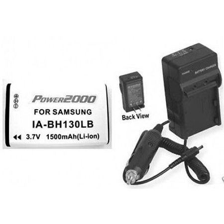 Battery + Charger for Samsung SMXC24BN, Samsung SMXC24RN, Samsung SMXC24LN, Samsung SMXC14, Samsung SMXC14GP, Samsung SMX-C14 Battery + Charger for Samsung SMXC24BN, Samsung SMXC24RN, Samsung SMXC24LN, Samsung SMXC14, Samsung SMXC14GP, Samsung SMX-C14Not made by Samsung