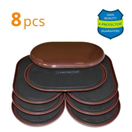 Furniture Sliders For Carpet X Protector 8 Pcs Heavy Duty 9 1