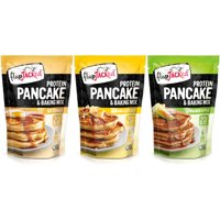 FlapJacked Protein Pancakes and Baking Mix - Variety Pack Size: 12oz