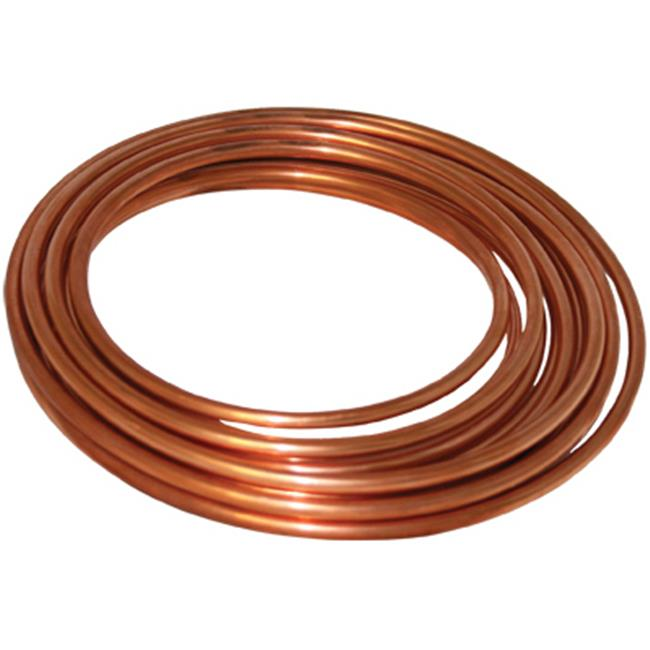 D 06010P 0.38 in. x 10 ft. Copper Refrigerator Tube - image 1 de 1