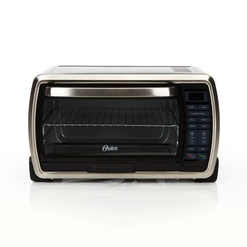 Oster Large Digital Countertop Toaster Oven Tssttvmndg Ebay