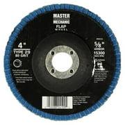 "4.5"" 80-grit Zirconia Flap Disc, Disston, 890965"