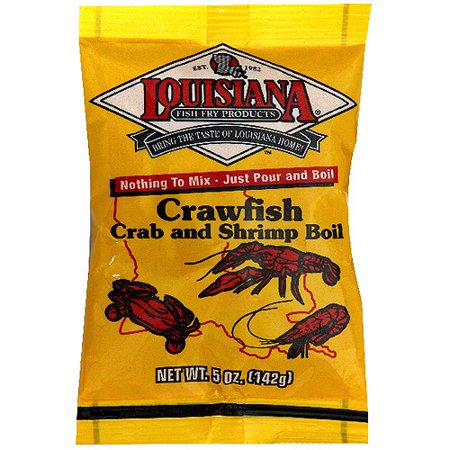 Louisiana Fish Fry Products Crawfish  Shrimp   Crab Boil  5 Oz  Pack Of 24