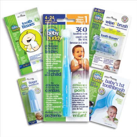 Baby Buddy Oral Care Kit Stages 1-5 - Blue