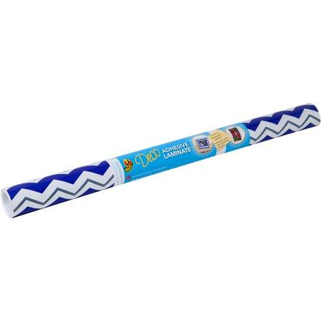 Duck Brand Deco Adhesive Laminate Shelf Liner Blue