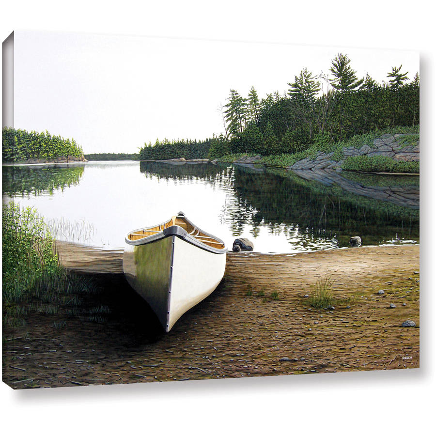 "ArtWall Ken Kirsch ""Silent Retreat"" Wrapped Canvas"