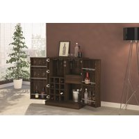 Boahaus Expandable Bar Cabinet with Wine Storage