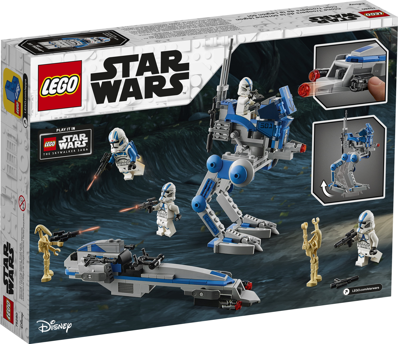 LEGO Star Wars 501st Legion Clone Trooper Battle Pack 75280 NEW in Box