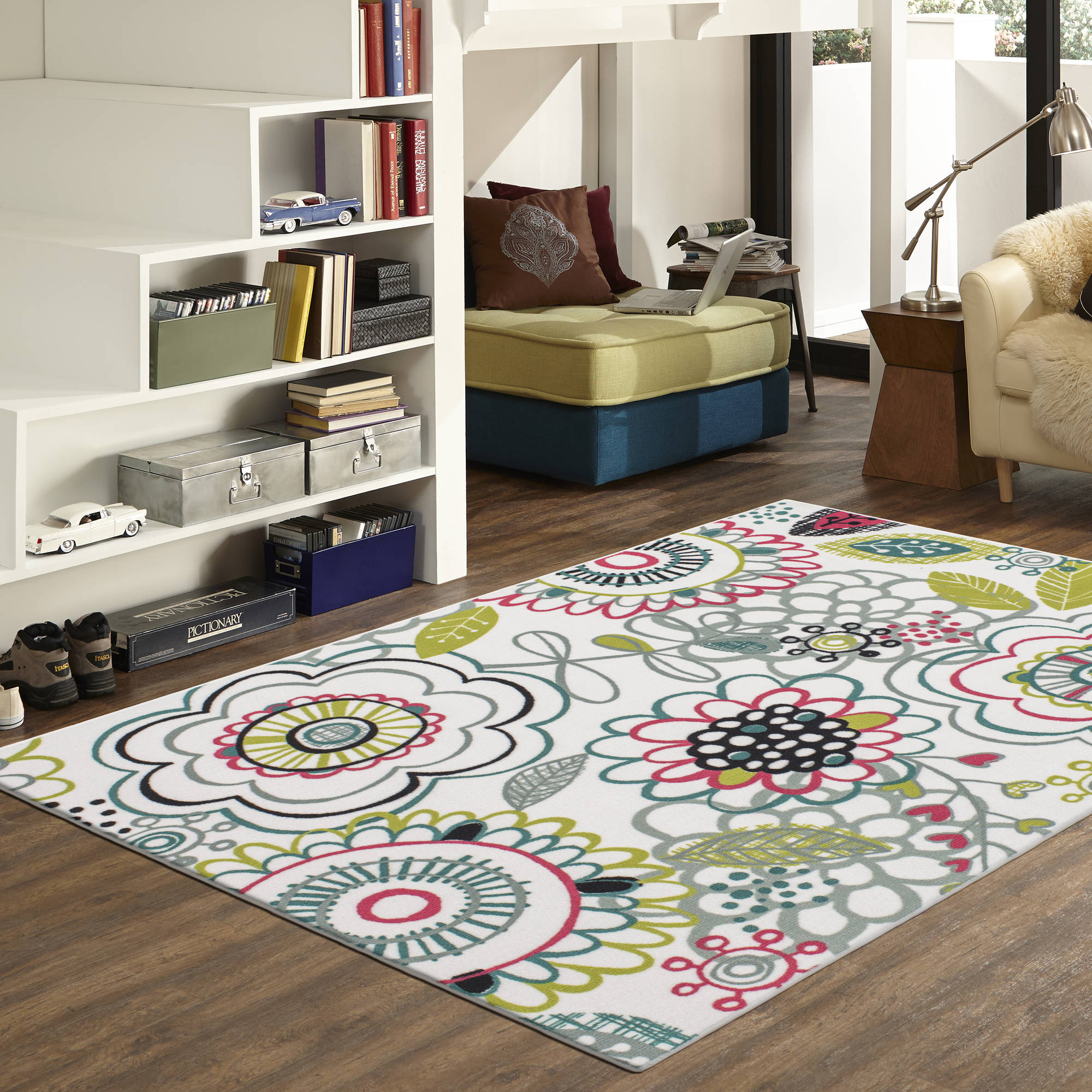 Mainstays Floral Fun Area Rug