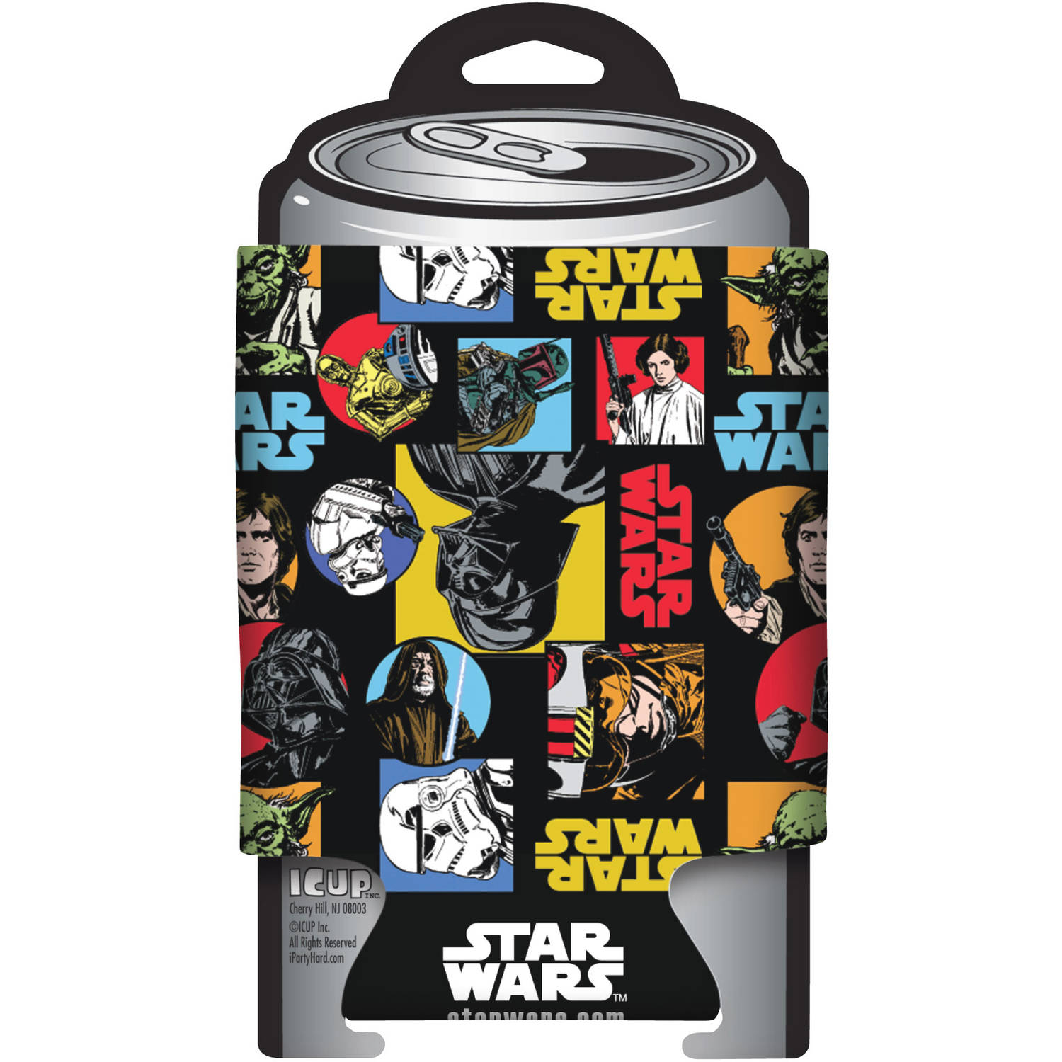Star Wars Pattern Can Cooler